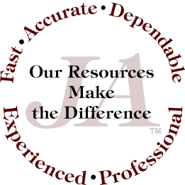 Jannell Agnew Court Reporting Logo